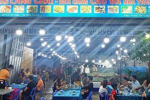 Nha Trang: Một nhà hàng bị xử phạt vì niêm yết giá gây nhầm lẫn