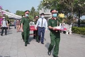 Truy điệu và an táng 24 hài cốt liệt sĩ quân tình nguyện, chuyên gia Việt Nam hy sinh tại Lào