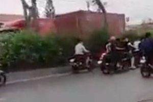 Tạm giữ 11 'quái xế' chặn Quốc lộ 22 để đua xe ở huyện Hóc Môn