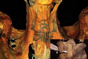 Bí ẩn hình xăm trên xác ướp Ai Cập