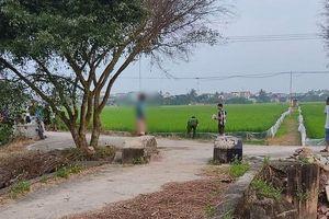 Thái Bình: Người đàn ông chết trong tư thế treo cổ
