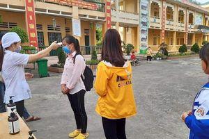 Trường học vùng biên: An toàn đón học sinh trở lại trường lớp