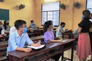 Thanh Hóa: 75 Điểm thi tốt nghiệp THPT năm 2021