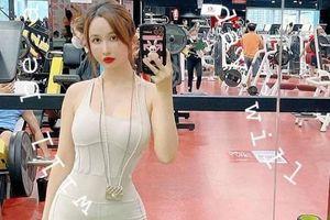 Vợ hai đại gia Minh Nhựa nhận 'cơn mưa lời khen' khi khoe dáng 'bốc lửa' trong phòng tập gym