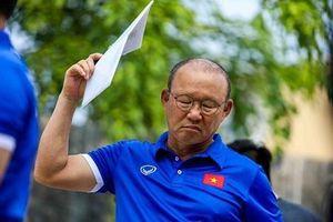 Ông Park 'nổi trận lôi đình' vì danh sách tuyển Việt Nam bị lộ