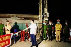 Bắt đầu triển khai 9 chốt chặn cửa ngõ ra vào tỉnh Vĩnh Phúc