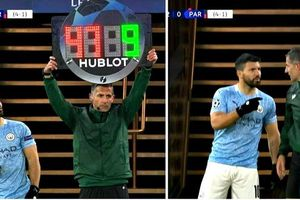 Khoảnh khắc hài hước trong trận Man City 2-0 PSG