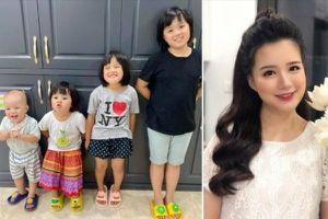 'Hot mom 4 con' MC Minh Trang mách nước dạy dỗ bầy con những ngày nghỉ học phòng dịch