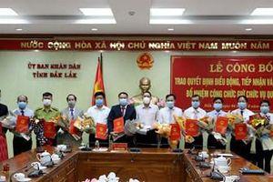 Bổ nhiệm hàng loạt lãnh đạo sở, ngành tỉnh Đắk Lắk