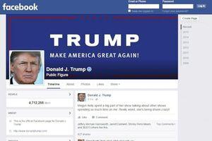 Facebook tiếp tục khóa tài khoản của cựu Tổng thống Mỹ Donald Trump