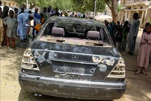 Tấn công khu đồn trú quân đội ở Nigeria, ít nhất 30 người thiệt mạng