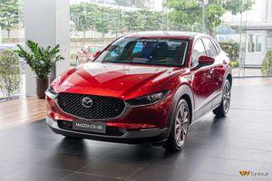 Cận cảnh Mazda CX-30 phiên bản Premium giá 899 triệu đồng, đối đầu Toyota Corrolla Cross
