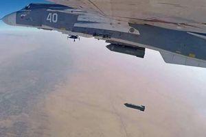 Không quân Vũ trụ Nga ồ ạt tấn công, hủy diệt các mục tiêu khủng bố ở Syria