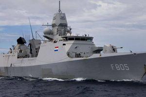 Khinh hạm Hà Lan sẽ 'hội quân' ở Biển Đen với các tàu chiến Hải quân Anh
