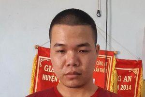 Bắt kẻ gây ra hàng loạt vụ cướp tài sản của người đi đường ở Đắk R'lấp