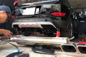 Bị từ chối bảo hiểm chỉ vì độ ống xả ô tô