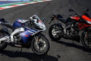 Bộ đôi xe đua Aprilia RS125 và Touno 125 ra mắt phiên bản mới