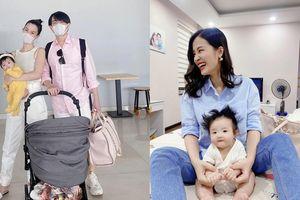 Đông Nhi và Ông Cao Thắng đúng chuẩn 'bố mẹ bỉm sữa': Túi hiệu cũng dùng đựng đồ cho Winnie