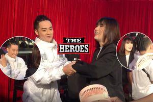 Thanh Duy cùng Han Sara khuấy đảo hậu trường The Heroes: Fan tò mò điệu nhảy độc đáo này thuộc về ai?