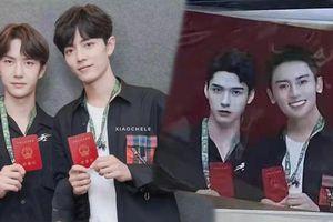 Fan Cung Tuấn - Trương Triết Hạn gây tranh cãi khi photoshop đưa thần tượng thế chỗ Bác Quân Nhất Tiêu