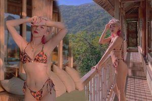 Tóc Tiên diện bikini nhỏ xíu khoe vòng 3 'căng mẩy' giữa khung cảnh núi rừng mộng mơ