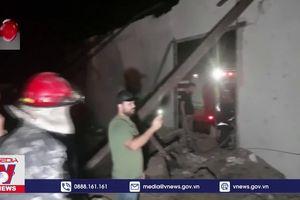 Syria đánh chặn vụ không kích tại Latakia