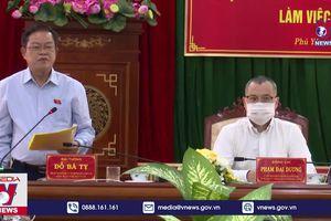 Kiểm tra công tác bầu cử tại Phú Yên