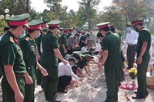 Quảng Trị tổ chức truy điệu và an táng 24 hài cốt liệt sĩ hy sinh tại Lào