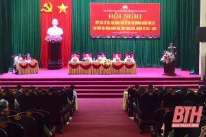 Ứng cử viên đại biểu HĐND tỉnh tiếp xúc cử tri huyện Đông Sơn