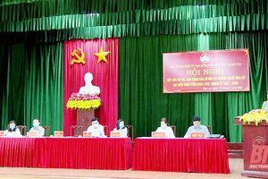 Ứng cử viên đại biểu HĐND tỉnh tiếp xúc cử tri tại huyện Nga Sơn