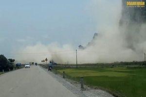 Quảng Bình: Ô nhiễm môi trường nghiêm trọng tại mỏ đá Lèn Bảng