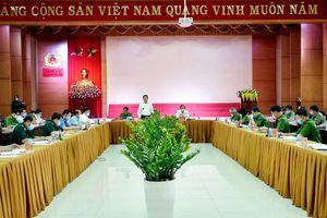 Thường trực Tỉnh ủy làm việc với Đảng ủy Công an tỉnh về công tác Đảng và bảo đảm ANCT, TTATXH