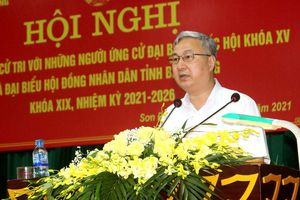 Ứng cử viên ĐBQH và HĐND tỉnh tiếp xúc cử tri, vận động bầu cử tại huyện Sơn Động