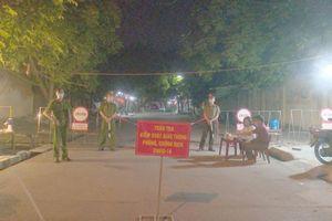 Bắc Giang: 85 cán bộ, chiến sĩ công an làm nhiệm vụ tại các chốt, cơ sở cách ly tập trung