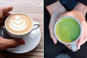 Bột trà xanh và cà phê, thức uống nào tốt hơn?