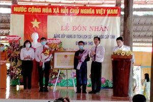 Đình Tịnh Thới được xếp hạng Di tích lịch sử - văn hóa cấp tỉnh