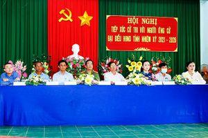 Ứng cử viên đại biểu Quốc hội và HĐND tỉnh Khánh Hòa tiếp xúc cử tri tại các địa phương