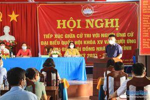 Ứng cử viên Đại biểu Quốc hội và HĐND các cấp tiếp xúc cử tri tại các địa phương