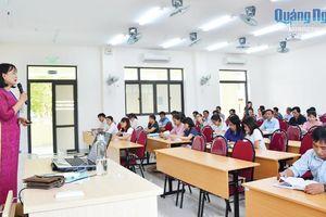 Nâng cao chất lượng giáo dục, học tập lý luận chính trị