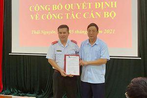 Công bố Quyết định bổ nhiệm Phó Chánh Thanh tra tỉnh