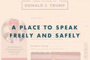 Ông Trump tự cho ra mắt mạng xã hội mới