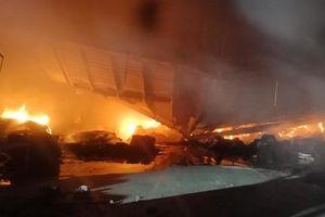 Thừa Thiên Huế: Cháy lớn tại công ty dệt trong KCN Phú Bài