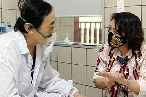 Nghệ sĩ Giang Còi nhập viện vì thổ ra máu quá nhiều
