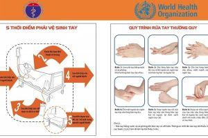 Giây phút cứu mạng - hãy rửa tay sạch sẽ!
