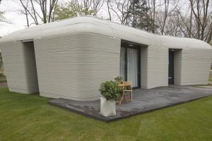 Ngôi nhà in 3D đầu tiên trên thế giới