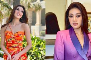 Hoa hậu Khánh Vân gây ấn tượng với 2 phong cách khác biệt, livestream bên lề Miss Universe