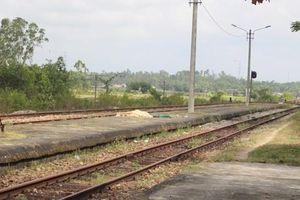 Quảng Nam: Bị tàu lửa tông, một người đàn ông tử vong