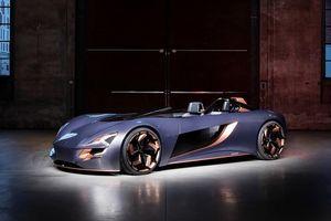 Suzuki ra mắt xe điện mui trần được lấy cảm hứng từ xe mô tô