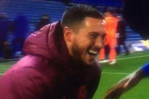 Hazard vui đùa sau thất bại ở Champions League
