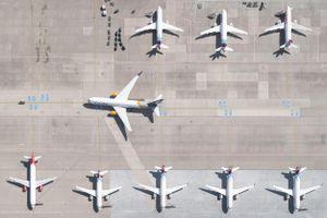 Những bức ảnh hé lộ góc nhìn hiếm thấy của các sân bay